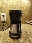 Hamilton Beach 5 Cup Coffee Maker 48137 Stainless Steel Black