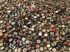500 MIXED BEER BOTTLE CAPS GREAT COLORS NO DENTS CLEAN PBR MILLER LITE BUD COORS