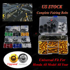 Universal Motorcycle Fairing Bolt Kits For Honda VTR1000 RC51 SP-1 SP-2 00-06