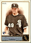 Chris Sale Rookie Cards and Prospect Card Guide 28