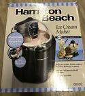 Hamilton Beach 68321Z 15 Quart Capacity Ice Cream Maker