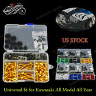Generic Motorcycle Full Set Fairing Bolt Kit For Kawasaki Concours 14 ABS 11-15