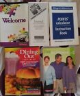 WEIGHT WATCHERS WINNING POINTS WELCOME JOURNAL DINING OUT POINTS INSTRUCTION