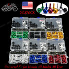 For HONDA CBR CB CBF RC VFR Fairing Bolt CNC Fairing Screws Fasteners Kit M5 M6