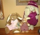 3 Boyd Bunny Bunnies Easter? Cosette & 2 Others 2 with Hang Tags Adult Owned