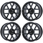 20 CHALLENGER CHARGER RT SCATPACK BLACK CHROME WHEELS FACTORY OEM 2527 EXCHANGE