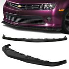 Made for 2014 2015 Chevy Camaro V6 Only GFX Style Front PU Bumper Add on Lip