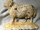 Country Primitive Old Antique Vintage Cast Iron Sheep Door Stop