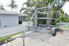 2008 ORS Kayak Canoe trailer for 18 kayaks Galvanized 3 tier new axial and hubs