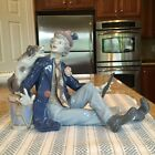 Lladro 5763 Musical Partners - - Clown w/ Dog and Clarient - Mint Condition