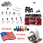 CNC Motorcycle Fairing Bolt Screw Nuts Screws Kit For BMW R1200GS 13 14 15 2016
