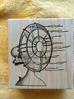 FAN by Stampa Barbara 1995 Rubber Stamp