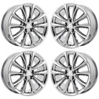 18 BUICK VERANO PVD CHROME WHEELS RIMS FACTORY OEM 4111 EXCHANGE