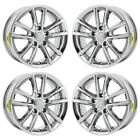 17 DODGE GRAND CARAVAN JOURNEY PVD CHROME WHEELS RIMS FACTORY OEM 2399 EXCHANGE