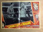 FOTOBUSTA ORIG MOVIES THE CABINET OF DR CALIGARI Glynis Johns Horror 1962