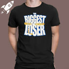 THE BIGGEST LOSER TV SHOW LOGO MENS BLACK T SHIRT SIZE S M L XL 2XL 3XL