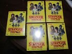 5 2018 Topps STRANGER THINGS Netflix Series Trading Cards Blaster Box Patch Card