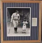 Babe Ruth Autograph Signed Cut with Picture PSA Certified Mint 9