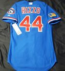 NEW CHICAGO CUBS AUTHENTIC JERSEY SIZE 40 MEDIUM ANTHONY RIZZO, TBTC MAJESTIC