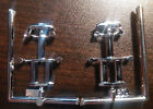 1949 Mercury 1/25 diorama trophy lot of 2 only Custom Coupe Lead Sled Chrome