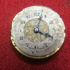 Lenroc 90 Cal Watch Movement Dial Nice Hands For Spares Or Repair Trench Size