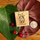 Stampin Up Retired Rubber Stamp 1995 Kitten Cat