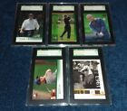 SGC GOLF CARD LOT UPPER DECK ARNOLD PALMER JACK NICKLAUS GARCIA PLAYER DUVAL ABC