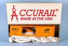 ACCURAIL Katy M-K-T 50' Steel Boxcar 62042 (Yellow) 1/87 HO Scale Model Kit NEW!
