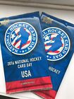 TWO (2) 2016 National Hockey Card Day USA Unopened Packs!