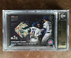 2016 Topps Now 615D Base Relic #1 25 BGS 10 Chicago Cubs Wins NLCS Pennant