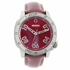 Ranger Leather Strap Watch by Nixon Red (MSRP $250)