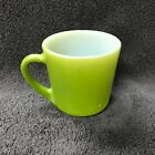 Anchor Hocking Coffee Cup Green #1069 Place Setters Collection Oven Proof USA