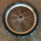 2001 Kawasaki KX85 KX 85 Motorcycle Dirt Bike Font Wheel Tire OEM
