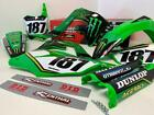 Kawasaki Factory 09-2019 Monster Energy Team Graphics Kit KX KXF 65 85 250 450
