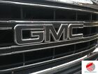 Gmc Emblem Overlay Decal Gloss Black Front Rear Precut Set