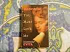 You Must Love Me [Single] by Madonna (Cassette, Oct-1996, Warner Bros.)