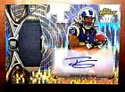 Todd Gurley 2015 Finest Autograph Auto Pulsar Refractor Rc Rams 35