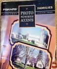 Fiskars Family Photo Memories Accents Scrapbook Paper Stickers Vintage FREE SHIP