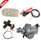 49cc Engine Throttle Grip Cable Chain Kill Switch For Mini Dirt Bike ATV Scooter