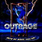 Used OUTRAGE DAYS OF RAGE 1986-1991 14tracks Album Music CDs Japan