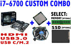 Intel i7 6700 40GHz QUAD CORE CPU ASUS PRIME B250M A Motherboard CUSTOM COMBO