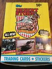 1991 Topps Desert Storm Trading Cards Box New Unopened Victory Series