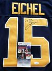Jack Eichel Signed Sabres Jersey Size XL In Person W coa