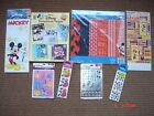 Making Disney Scrapbook Pages Paper Pack Mickey Mouse  Princess Stickers LOT