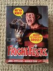 Vintage 1988 Topps FRIGHT FLICKS Horror Movie Trading Card Box 36ct COMPLETE