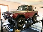 1967 Ford Bronco 1 2 Cab U14 1967 Ford Bronco True Half Cab U14 Mint Condition