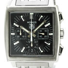 TAG HEUER Monaco Chronograph Steel Automatic Watch CW2111 BF334625
