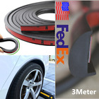 3m Rubber Car Wheel Fender Flares Protection Strip Universal 3cm Width From USA