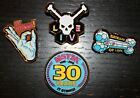 MST3K 30th Anniversary LIVE TOUR Enamel (4) Pin SET Mystery Science Theater 3000