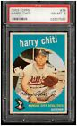 1959 Topps Harry Chiti #79 (Low number, Low shipping costs) PSA 8